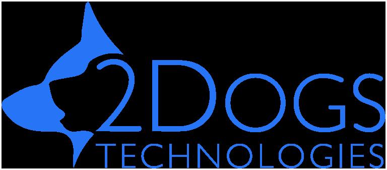 2 Dogs Logo
